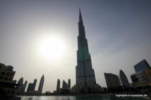 Stopover in Dubai: Burj Khalifa