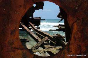 am Schiffswrack