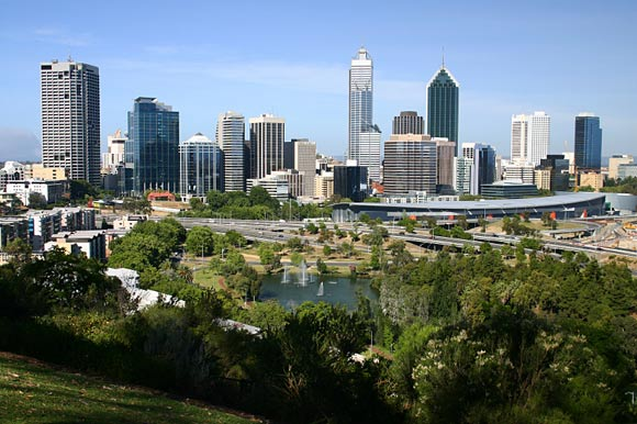 Perth: Skyline und Kings Park