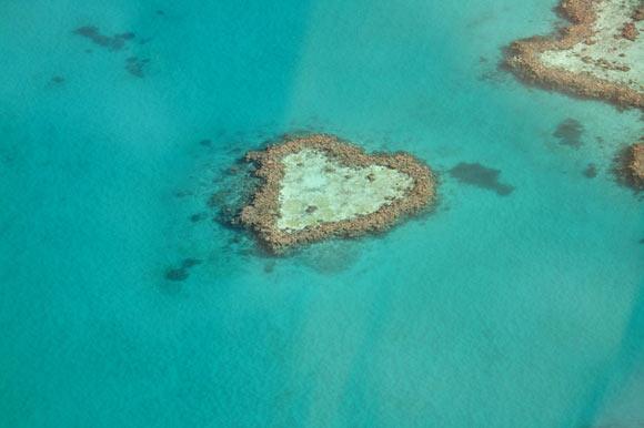Das Herz an den Whitsundays