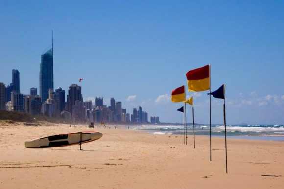 Gold Coast am Strand