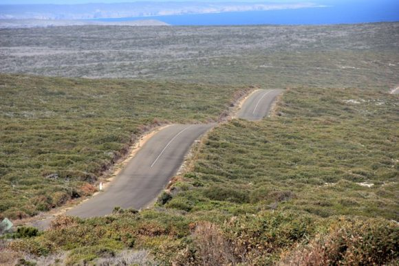 Straße in Australien: Kangaroo Island