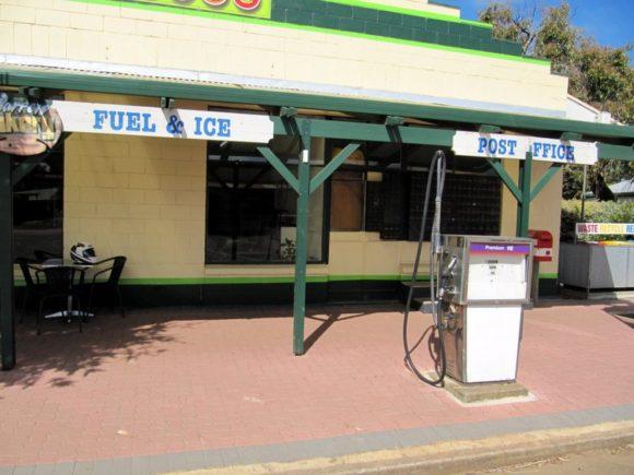 Tankstelle in Australien